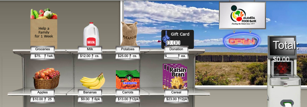 Virtual Food Drive Banner